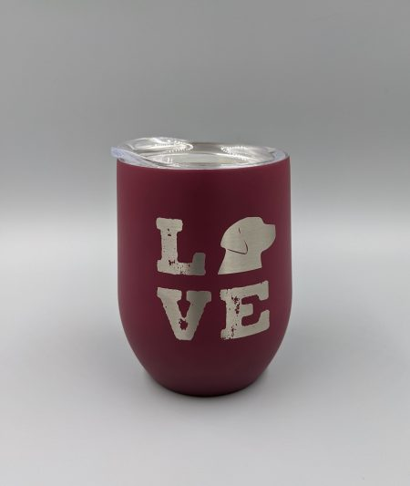 Love Black Lab Insulated Cup